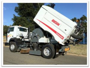 Elgin goscor assembled road sweeper