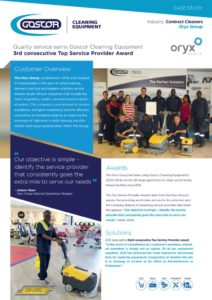 thumbnail of Goscor Contract Cleaning Case Study – Oryx goup
