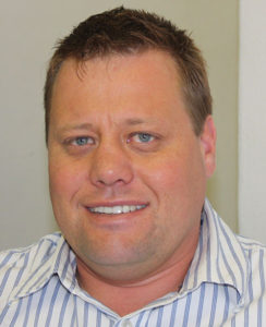 Greg Venter, Operations Manager, GCE
