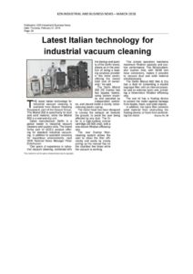 thumbnail of KZN Industrial and Business News, March 2018. The AVE amount is R12 827.08